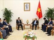 越南政府总理阮春福会见日本环保专家代表团一行