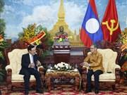 老挝迎来传统新年 越南政府副总理范平明送祝福