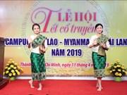 胡志明市举行2019年柬老缅泰传统新年庆贺活动