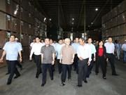 阮富仲:坚江省以经济发展为中心、以党建为核心 实现全面发展