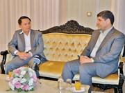 伊朗伊斯兰共和国通讯社社长接受越通社记者采访