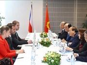 越南政府总理阮春福会见捷信集团领导
