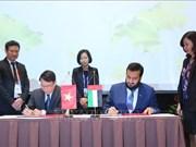 越通社与阿联酋通讯社建立合作关系