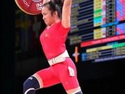 2019年亚洲举重锦标赛: 越南选手王氏玄夺得三金
