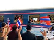 泰柬重开跨境铁路促进边境合作