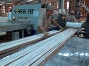 今年前4月林产品和木制品出口额增长近18%