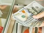 4月23日越盾兑美元中心汇率上涨8越盾