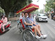 越南接待国际游客量持续增长