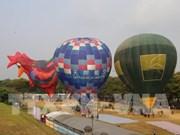颇具特色的2019年顺化热气球节举行