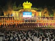 2019年第八届顺化传统手工艺节圆满落下帷幕