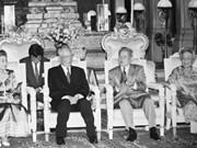 柬埔寨和美国多家媒体报道了原越南国家主席黎德英生平及其所做出的贡献