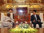 河内市同非洲高级专家代表团分享发展经验