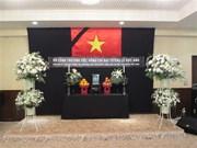 越南驻日本大使馆为黎德英同志举行吊唁仪式