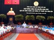 政府总理阮春福与高技术劳工进行对话