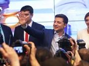 阮富仲向乌克兰当选总统弗拉基米尔·泽伦斯基致贺电