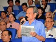 胡志明市选民希望反腐工作做得更严更深更实