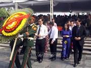 广治省为26具在老挝牺牲的越南烈士遗骸举行追悼会和安葬仪式