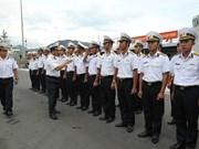 """越南海军016""""光忠""""号导弹护卫舰参加ADMM+演习和2019年亚洲国际海事防务展"""