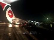 孟加拉国飞机在缅甸降落时滑出跑道 多人受伤