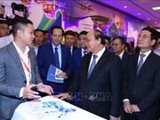 阮春福总理:科技企业是助推越南经济社会发展的重要因素