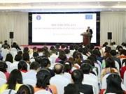 欧盟对越南卫生援助计划取得重要成果