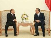 越南政府副总理张和平会见柬埔寨宗教部部长