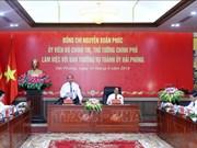 政府总理阮春福:海防市需成为越南数字经济领先城市之一