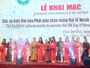 2019年联合国佛诞大典系列文化活动开幕式在河南省举行