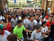 菲律宾中期选举投票举行