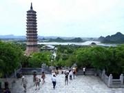 2014年联合国卫塞节成功举办推动宁平省旅游业发展