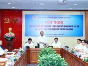 越南政府总理阮春福主持召开会议   征集科学家对越共十三大经济社会筹备小组的意见建议