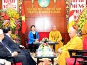 阮氏金银主席:越南佛教协会已成功举办2019年联合国卫塞节