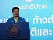 朱林·拉萨纳维席担任泰国民主党新党魁