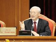 越共十二届十中全会召开第一天:对会议议程提出意见