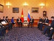 阮春福对俄罗斯进行正式访问:重视越俄战略伙伴关系