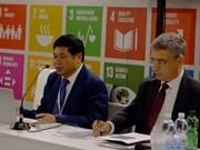 越南承诺成为国际发展合作的积极因素