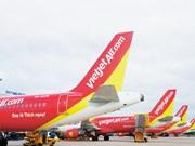越捷航空推出亚洲各航线零越盾起机票