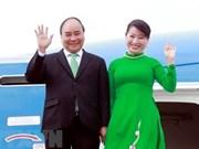 越南政府总理阮春福启程访问俄罗斯、挪威和瑞典