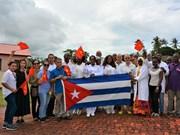 越南驻坦桑尼亚大使馆同古巴驻坦桑尼亚大使馆配合开展慈善活动