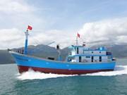 越南坚江省坚决不让未经登记渔船出海捕捞