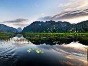 宁平省云龙湿地自然保护区成为越南第九个拉姆萨尔湿地