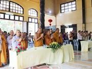 旅居老挝越南人举行佛历2563年佛诞大典