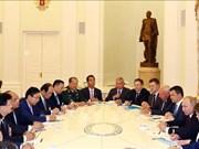 阮春福总理会见俄罗斯总统普京