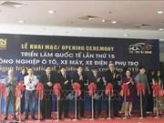 2019年越南汽车摩托车及零配件展在胡志明市开幕