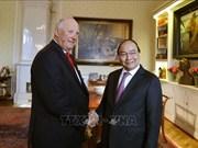 政府总理阮春福会见挪威国王哈拉尔五世