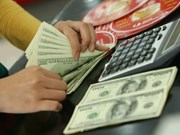 5月24日越盾兑美元中心汇率上涨3越盾