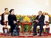 柬埔寨国会主席韩桑林即将对越南进行正式访问