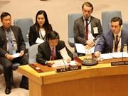 越南承诺对武装冲突中平民保护问题做出贡献