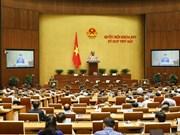 第十四届国会第七次会议继续讨论三项法案
