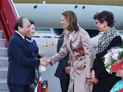 政府总理阮春福赴奥斯陆 开始挪威访问之行